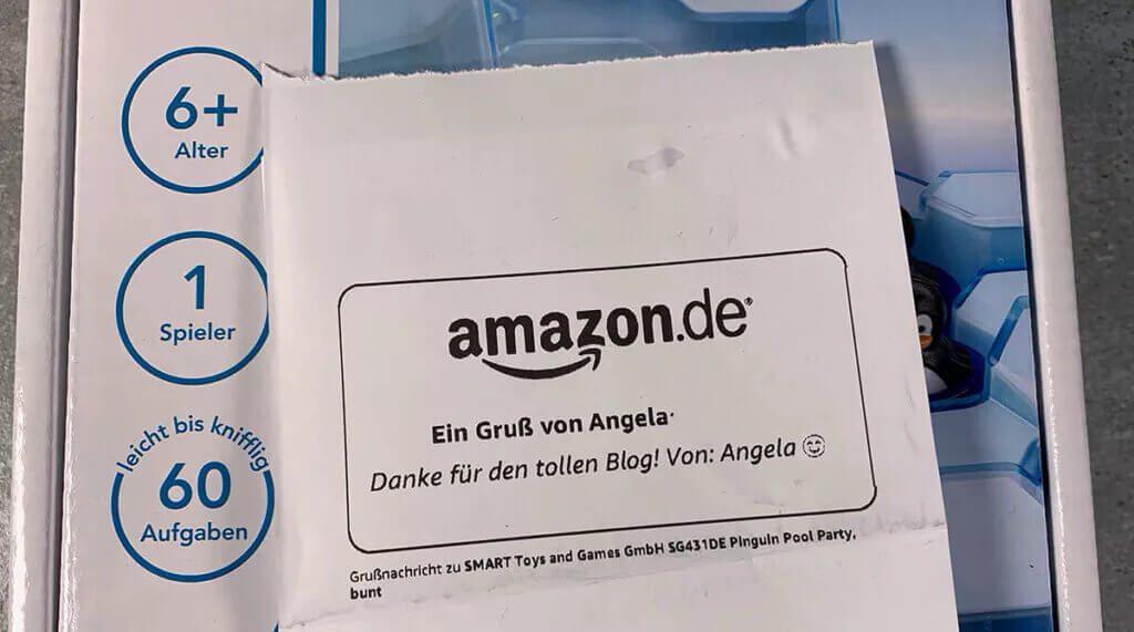 Angela, danke für das tolle Geschenk! (Fotos: Sir Apfelot)