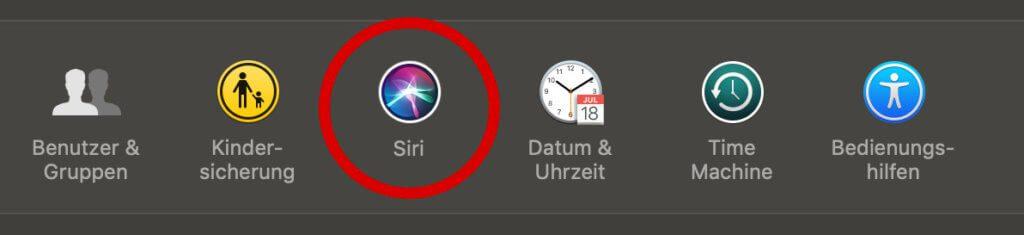 Siri Sprachausgabe deaktivieren Apple Mac macOS