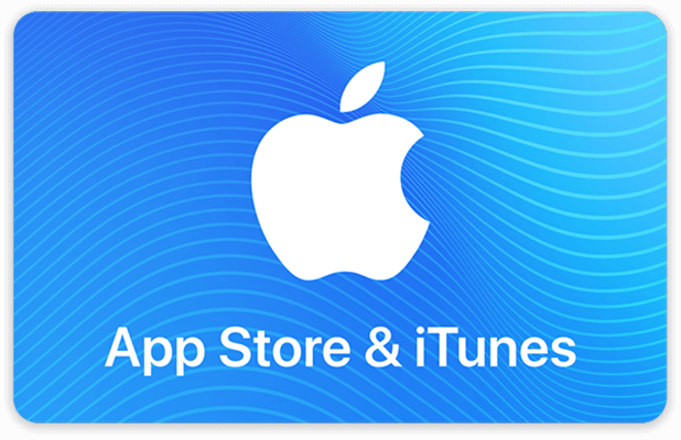 AppStore&iTunes-Geschenkkarten können digital verwendet werden, um online Guthaben für verschiedensten Content aufzuladen. Bildquelle: Apple
