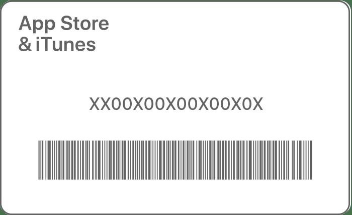 Sowohl den Barcode, den ihr mit der iPhone-Kamera scannen könnt, als auch den Karten-Code für die manuelle Eingabe findet ihr auf der Kartenrückseite. Bildquelle: Apple