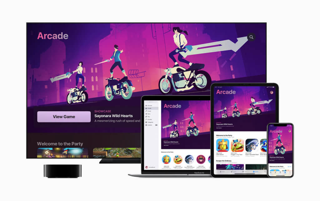 Sayonara Wild Hearts von Simogo wurde schon zum Start von Apple Arcade groß vorgestellt. Jetzt ist es das Spiel des Jahres 2019.