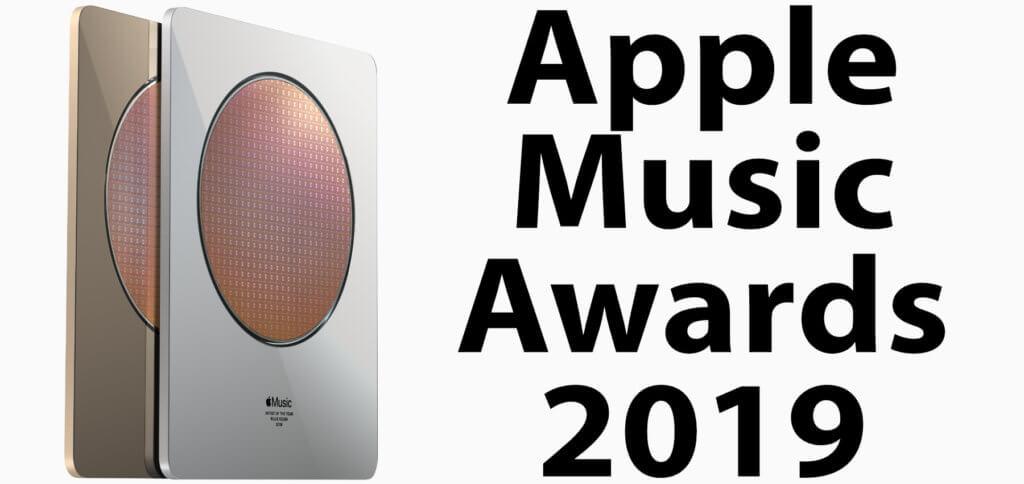 So sieht der Apple Music Award in physischer Form aus – enthalten ist eine 12-Zoll-Scheibe aus Silizium.