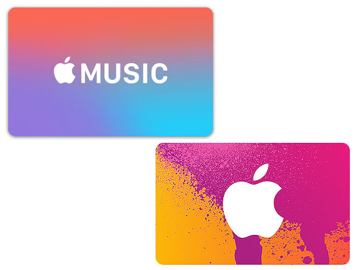 Ältere Apple Gutscheine können so aussehen. Ob zu Weihnachten 2019 bekommen oder schon länger in der Schublade: ihr könnt sie meist noch verwenden! Bilderquelle: Apple