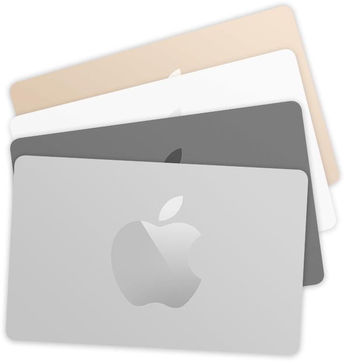Die Apple Store Geschenkkarte könnt ihr wahrscheinlich nur im Store (offline) einsetzen. Bildquelle: Apple