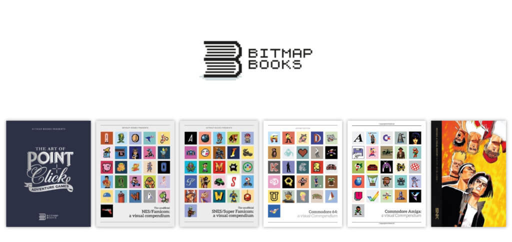 Der Verlag Bitmap Books bietet Bücher mit der Geschichte von Konsolen, Computern und ihren Spielen in grafisch aufbereiteter Form an. Unter anderem NES, SNES, Commodore 64 und Amiga sowie NEOGEO werden in einzelnen Bänden präsentiert.