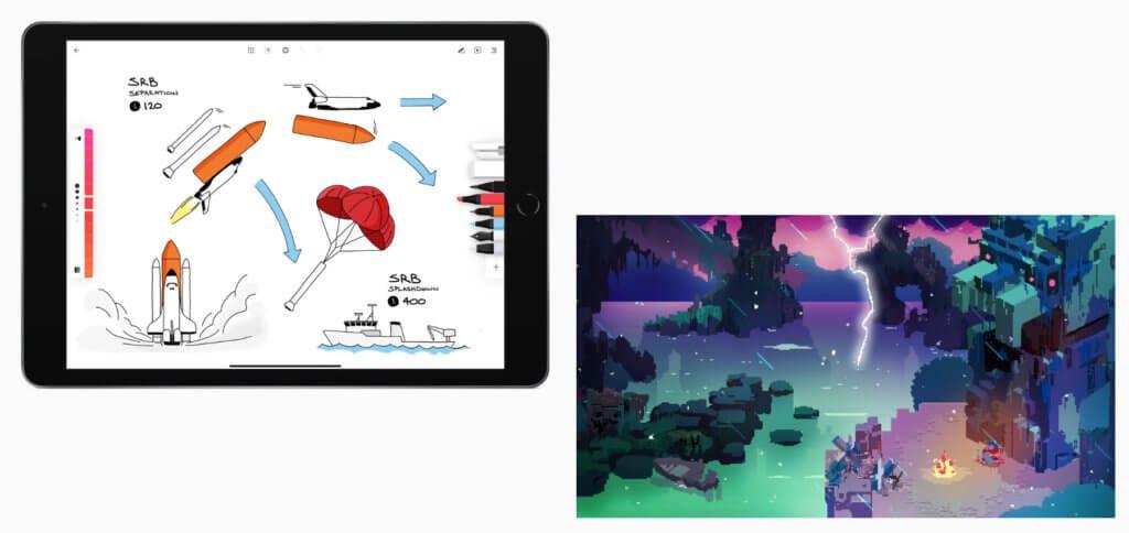 Die iPad App des Jahres ist ein digitales Notizbuch mit verschiedenen Stiften und Markern. Das iPad Spiel des Jahres ist ein modernes 16-Bit-Adventure.