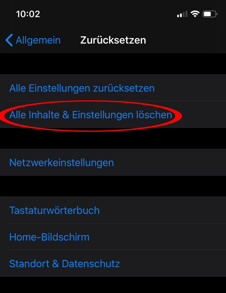 Der iPhone Hard Reset kann über das iOS-Menü realisiert werden. Vor allem auf Apple-Smartphones ohne Home Button (iPhone 11, etc.) geht dies.