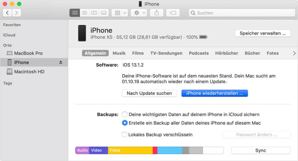 Iphone Backup Wiederherstellen Ios 9 Auf 10