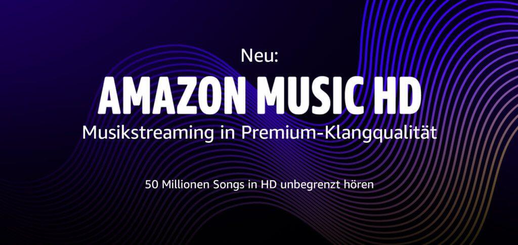 Mit Amazon Music HD könnt ihr Musikstreaming in Premium-Qualität kostenlos erleben. Hier erfahrt ihr, wie ihr über 50 Millionen Songs in bester Audioqualität gratis streamt; für 90 Tage!