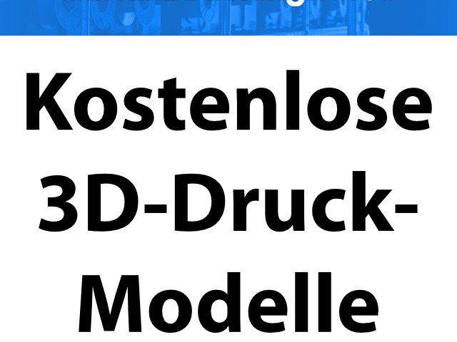 3d Modelle 3d Druck Vorlagen Printer Care 11