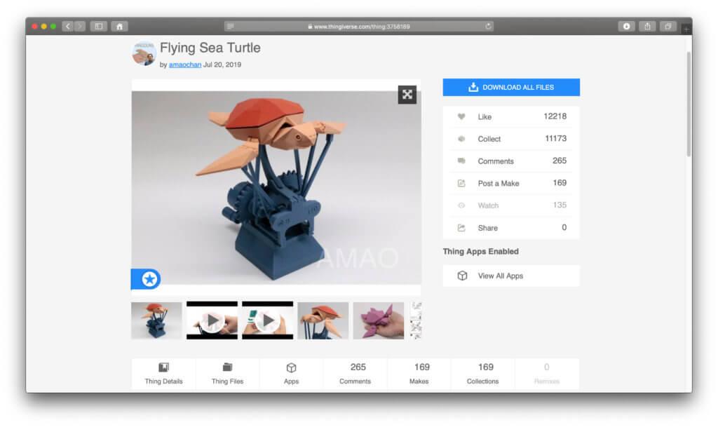 Die gratis Vorlagen für den 3D-Drucker sind gut dokumentiert, können als Favoriten gespeichert und kommentiert werden. Free 3D Model Download for 3d Printer