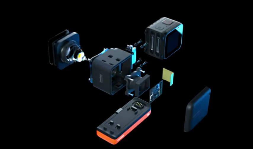 Der modulare Aufbau der One R ist die Besonderheit, die sie von jeder anderen 360-Grad-Kamera unterscheidet.