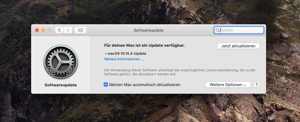Das Update auf 10.15.3 ist vor allem auf die Behebung von Fehlern ausgerichtet, die leider mit macOS Catalina in großer Anzahl auf den Mac kamen.