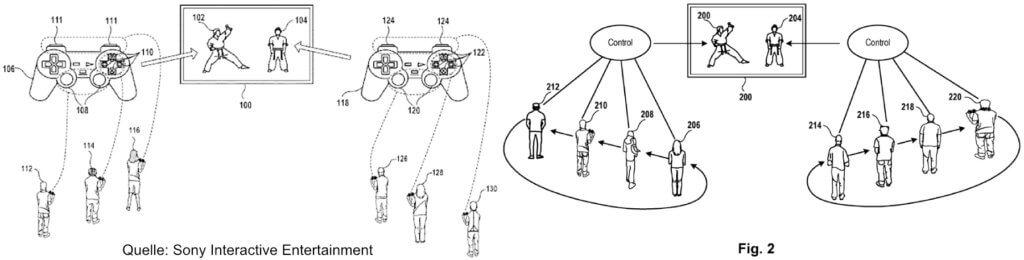 An der Sony PlayStation 5 Multiplayer-Spiele spielen, das erreicht eine ganz neue Dimension. Denn jetzt soll ein Charakter mit mehreren Controllern angesprochen werden können.