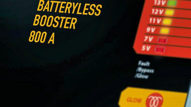 Wartungsfreie, batterielose Booster für die Autobatterie