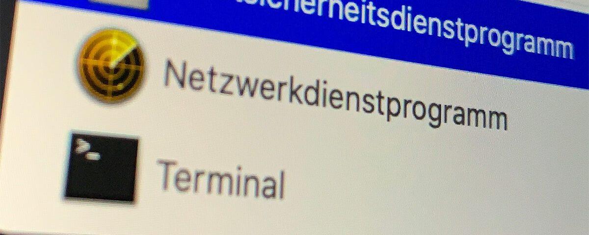 EFI Passwort am Mac festlegen