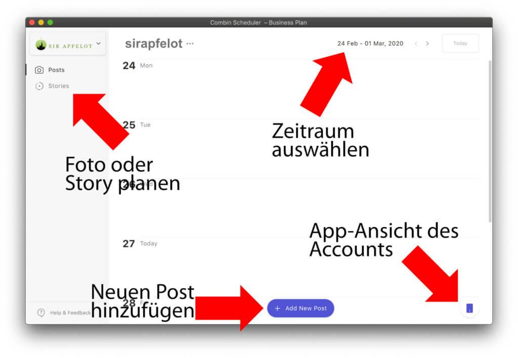 Die ohne Schnickschnack designte App hilft euch, den Instagram Post oder die Insta Story zum richtigen Zeitpunkt erscheinen zu lassen.