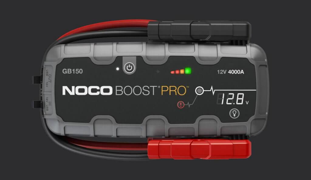 Noco hat neben dem Boost Pro HD150 noch kleinere Modelle am Start, die sich auch für Motorräder eignen. Verpolungs- und Kurzschlussschutz natürlich inbegriffen.