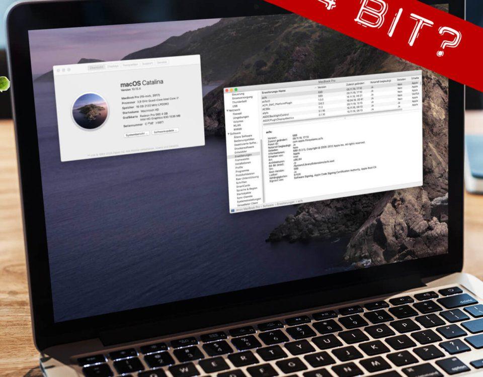 Habe ich einen 64 Bit Mac?