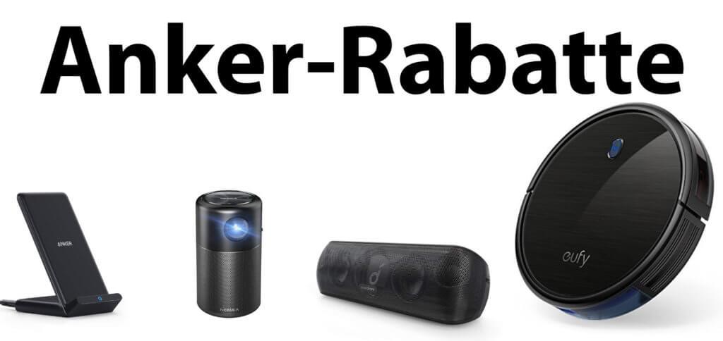 Ladegeräte, Mini-Beamer, Saugroboter und Bluetooth-Lautsprecher günstiger kaufen; das geht dank der Rabatte von Anker bis zum 15.03.2020!