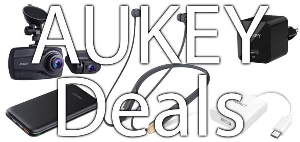 Die aktuellen AUKEY Deals sind bis 22., 25. und 29.03.2020 gültig. Dank Rabattcode für Amazon bekommt ihr unter anderem eine Dashcam, eine Powerbank, verschiedene Ladegeräte, Kopfhörer und mehr billiger!