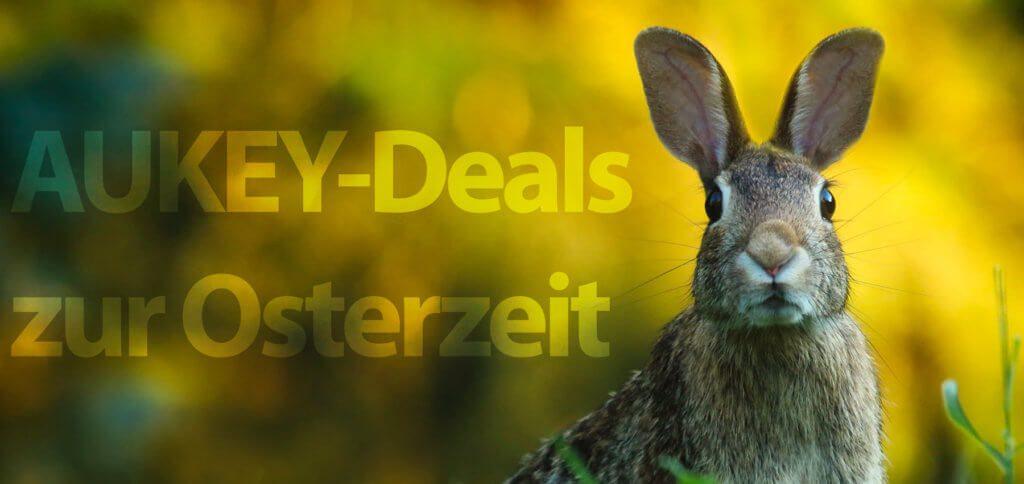 Mit den folgenden Coupons und Gutscheincodes könnt ihr bis Ostern AUKEY-Produkte bei Amazon günstiger kaufen.