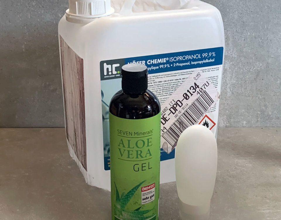 DIY Handdesinfektion Rezept