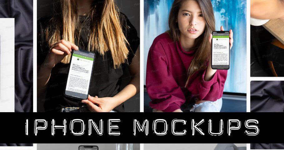 iPhone Mockups selbst erstellen