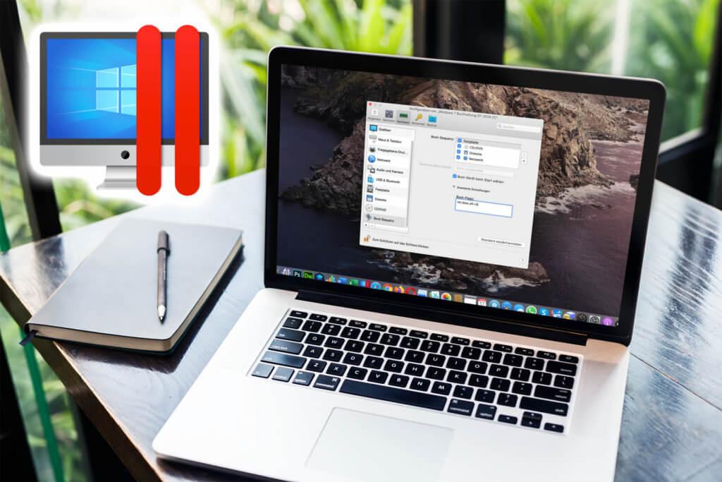 Wenn unter Parallels Desktop die Windows Installation nicht mehr starten will, muss man oft in den Boot-Flags etwas ändern.