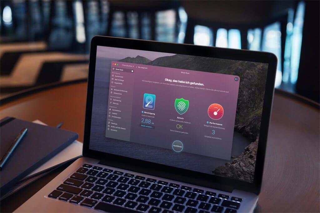 Neben dem Deinstallieren von Software kann CleanMyMac auch perfekt genutzt werden, um Platz auf der System-Festplatte zu machen.