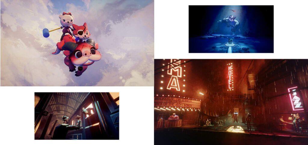 Mit Dreams für PS4 eigene Objekte, Charaktere, Level und Welten gestalten, um Spiele selber zu erstellen. Dies sind nur vier Beispiele für das, was mit Dreams auf der PlayStation 4 möglich ist.