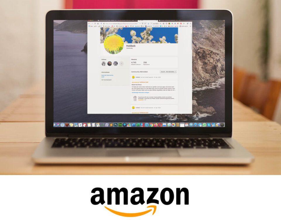Foto Amazon Profil Link kopieren oder anklicken