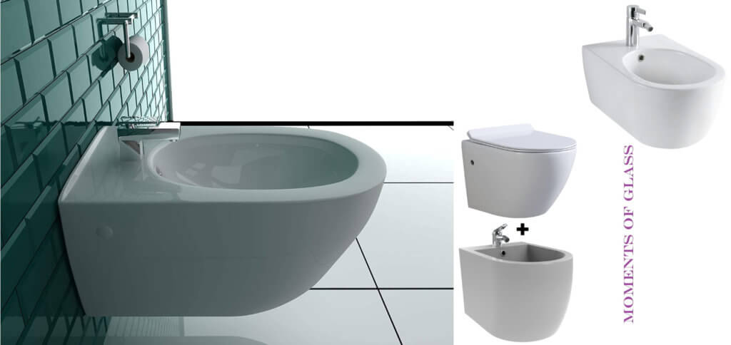 Ein Hängebidet ist dann sinnvoll, wenn ihr einen Wasseranschluss (und auch Abfluss) im Bad übrig habt. Produktbilder: Hersteller + Amazon