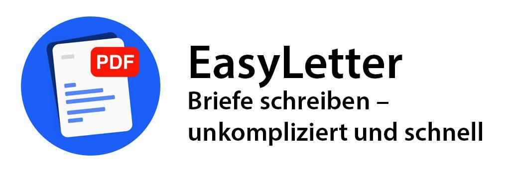EasyLetter – Briefe schreiben unkompliziert und schnell