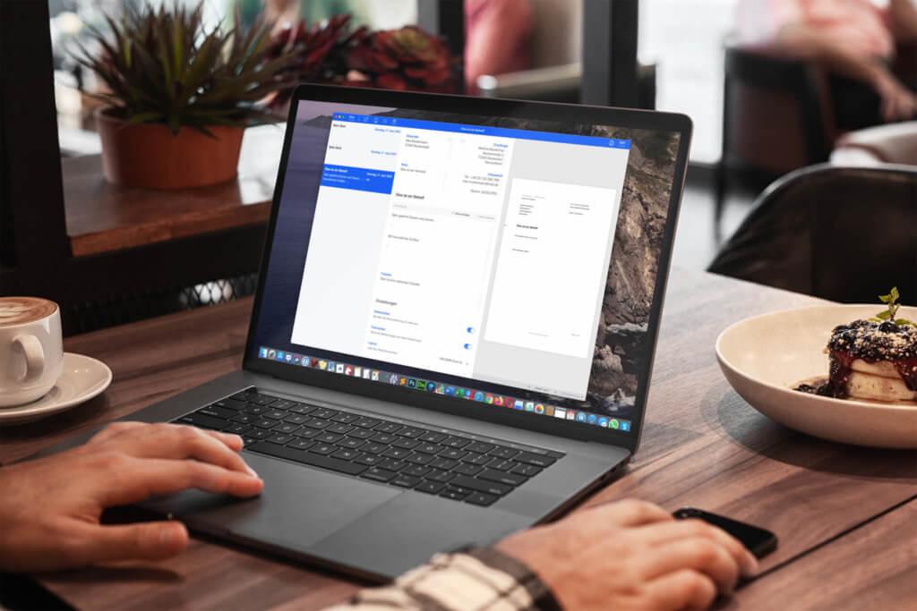 Kündigungsschreiben, Korrespondenz mit Ämtern und ähnliche langweiligen Briefverkehr kann man schnell mit EasyLetter am Mac erledigen.