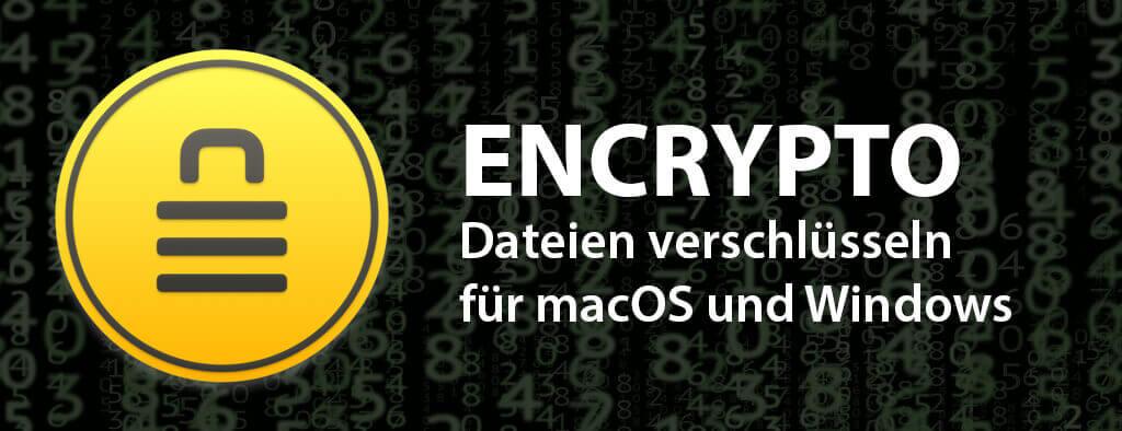 Mit Encrypto von MacPaw lassen sich Dateien und Ordner unter macOS und WIndows verschlüsseln und austauschen.
