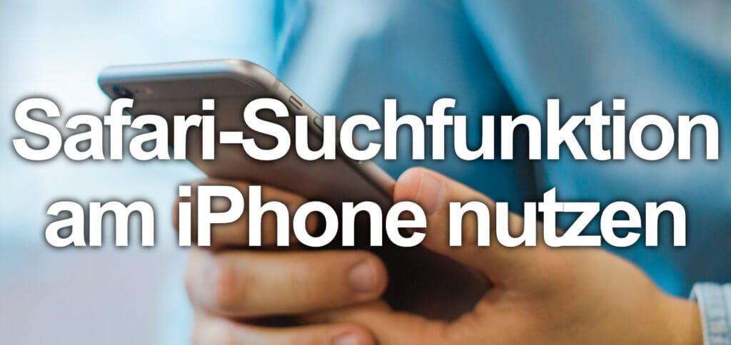 Auf Webseite suchen – In Safari am iPhone Wörter hervorheben geht ganz einfach mit der folgenden Schritt-für-Schritt-Anleitung. Display als Alternative zur Bluetooth-Tastatur und cmd+F.