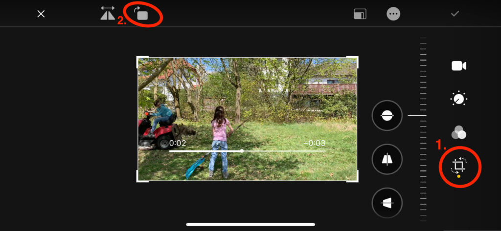 Es geht doch: Mit iOS 13 und der Fotos-App lassen sich auch Videos drehen.