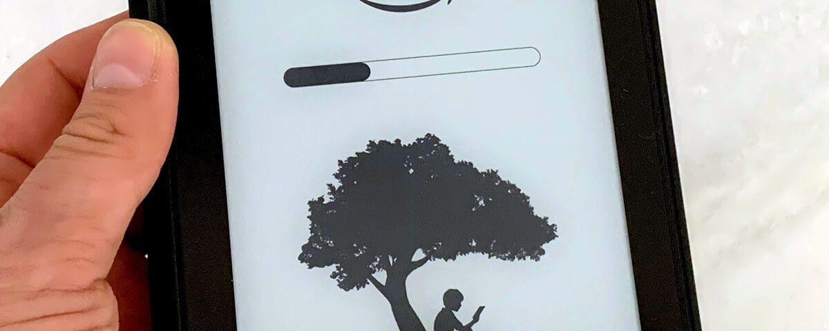 Kindle Paperwhite anschalten