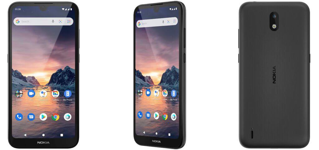 Das Nokia 1.3 kostet nur 109 Euro, bringt dafür aber ein 5,71 Zoll Display, Android 10, eine Haupt- und eine Selfie-Kamera, Google-Dienste und mehr mit. Ein Smartphone für alle, die (angeblich) keins brauchen ;)