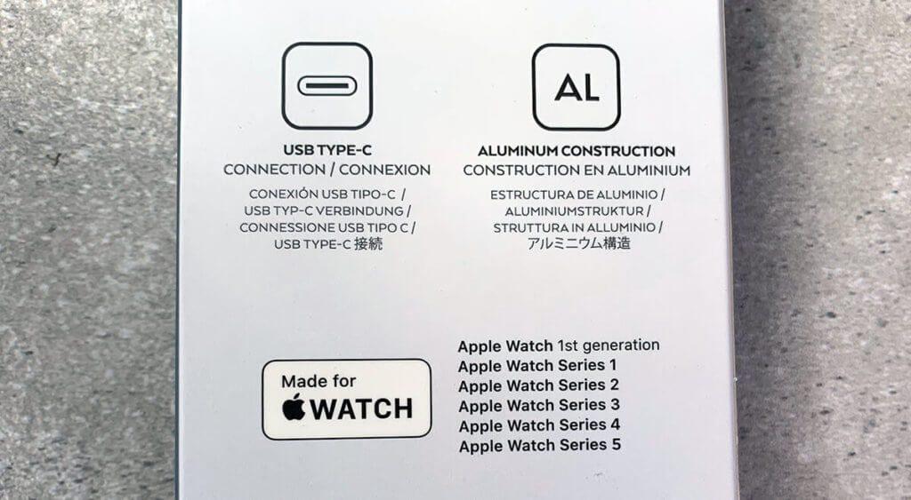 Die Kompatibilität des Satechi Ladegeräts ist mit allen Apple Watch Modellen gegeben.