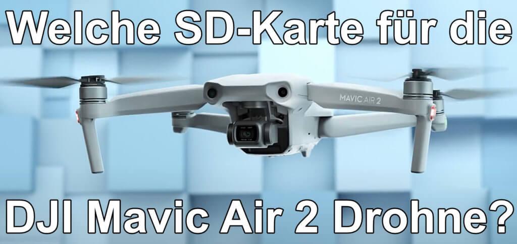 Die richtige SD-Karte für die DJI Mavic Air 2 im Detail vorgestellt. Hier lesen, welche microSD-Speicherkarte in der Kamera-Drohne beste Leistung bringt. Mein Tipp ist natürlich der Hersteller SanDisk mit der Extreme-Ausführung seiner microSDXC-Karte ;)