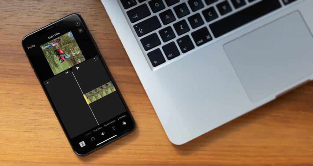 Das Drehen von einem Video funktioniert am iPhone deutlich komfortabler als am Mac (Foto: Placeit).