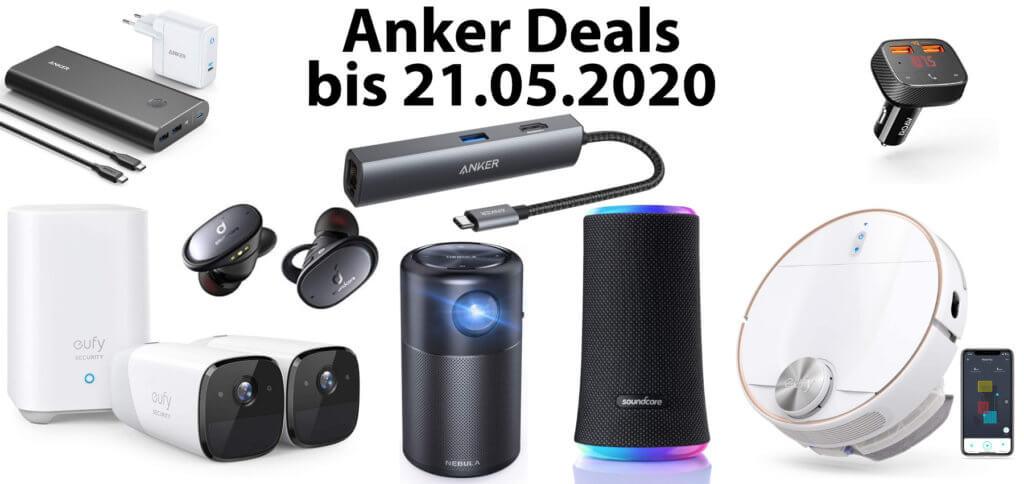 Dank der Anker Vatertag-Deals bekommt ihr bei Amazon bis zu 25% Rabatt auf ausgesuchte Produkte. U. a. gibt es Gutscheincodes für einen Beamer, Überwachungskameras, Kopfhörer und Auto-Zubehör.