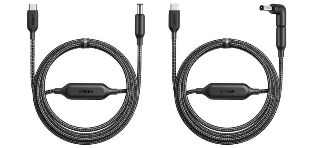 Die Anker PowerLine USB-C-auf-DC-Kabel sorgen an verschiedenen Modellen von Lenovo, HP, und Chromebook für eine Stromversorgung per USB-C-Ladegerät. Alle Daten und kompatiblen Modelle findet ihr hier.