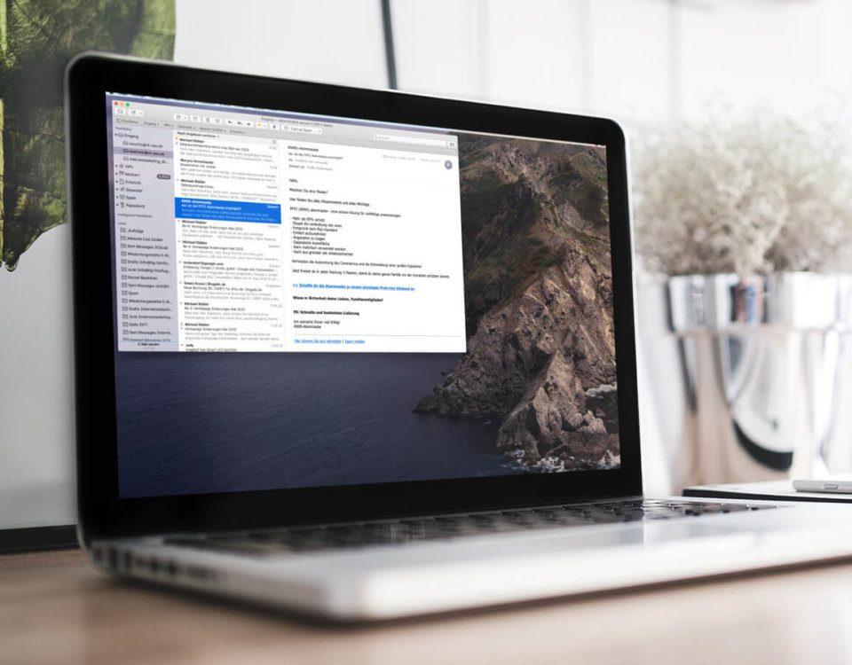 Apple Mail versucht ständig Mails zu versenden