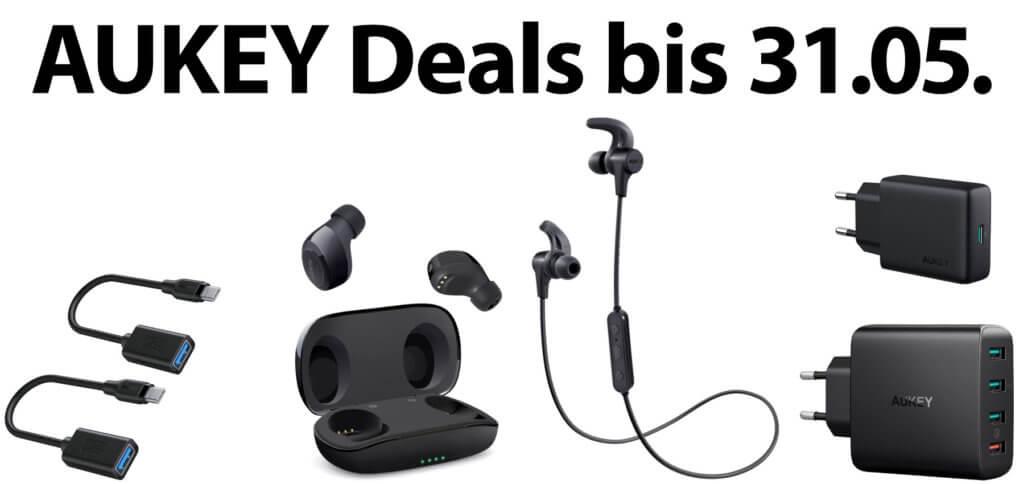 Unter den aktuellen AUKEY-Deals sind Kopfhörer, Ladegeräte und mehr. Welchen Gutscheincode oder Coupon ihr bei Amazon benötigt, um einen Rabatt zu erhalten, das lest ihr weiter unten.