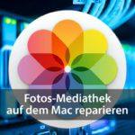 Mediathek der Fotos-App am Mac reparieren