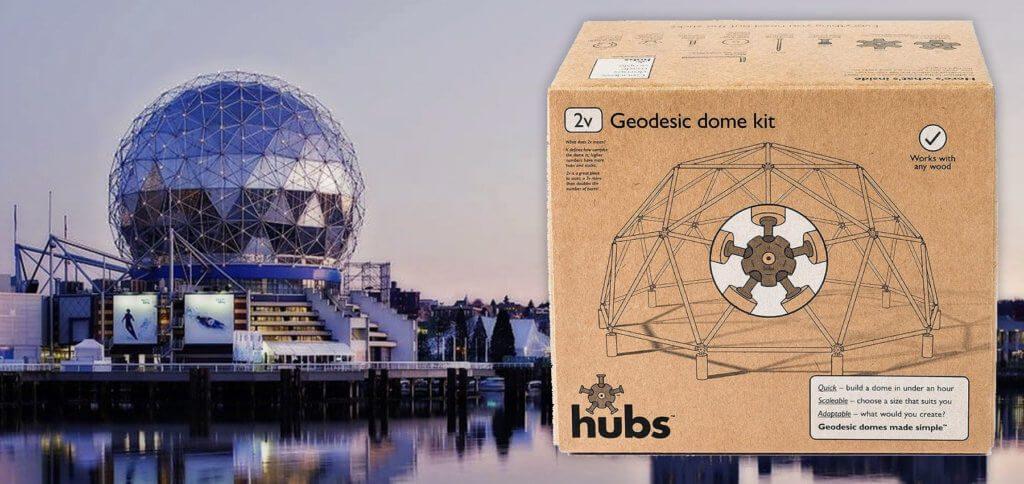 Eine geodätische Kuppel selber bauen mit einem Geodome-Bausatz – ob als Gewächshaus, Pavillon oder Spielhaus für die Kinder. Das ist ein tolles Projekt für 2020 ;)