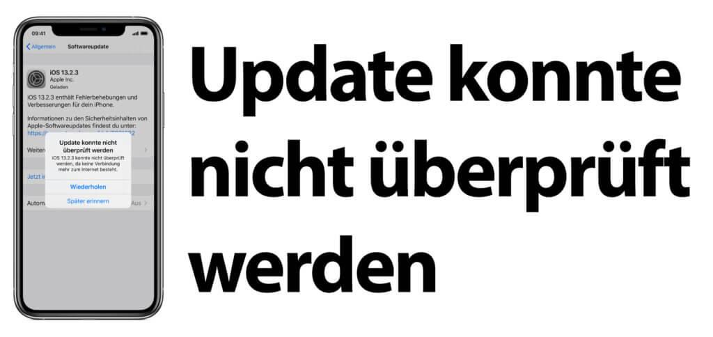Update konnte nicht überprüft werden – Der Fehler bei der iOS Aktualisierung ist nervig, kann aber behoben werden. So bekommt ihr dennoch das aktuellste Betriebssystem aufs Apple iPhone.